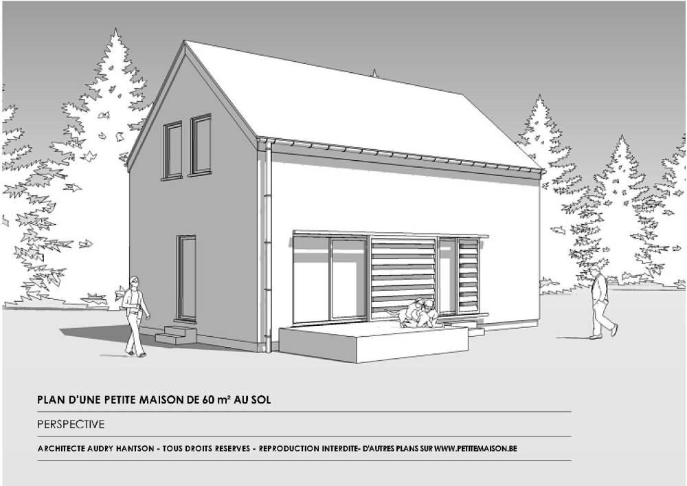 Petite Maison - Plan gratuit d'une maison, d'un chalet